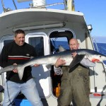 Nice October day out sharking.